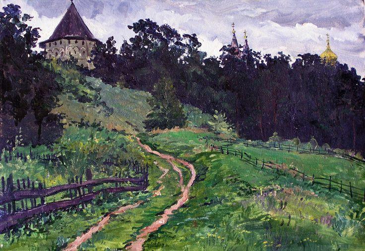 В.Качанов. Звенигород.1982.