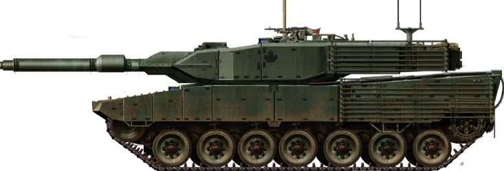 Canadian 2A6M, improved for urban combat, as tested in 2008 to 2013.