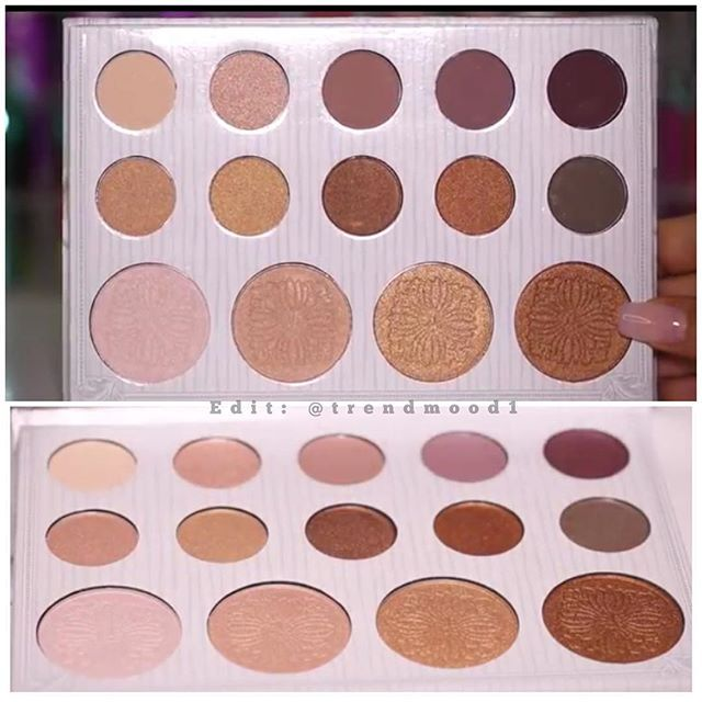 BH Cosmetics Carli Bybel Palette Limited Edition Early September Sneak Peek Price is less than $15
