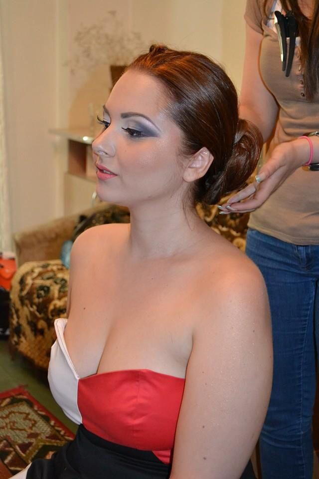 Bridal make-up & hair  www.elenapanait.ro