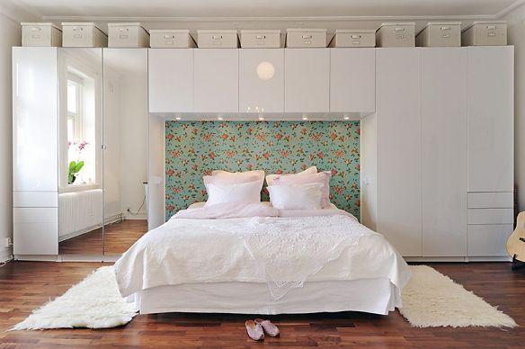 garderobsvägg med säng - Sök på Google