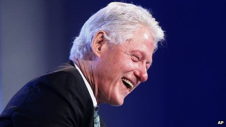 Bill Clinton in Washington (14 May 2014). Bill Clinton: Hillary in good health. Former US President Bill Clinton has praised the strength and health of his wife, ex-Secretary of State Hillary Clinton, dismissing a top Republican's public doubts about her well-being. #Hillary #HillaryClinton #Hillary #USA #women #President