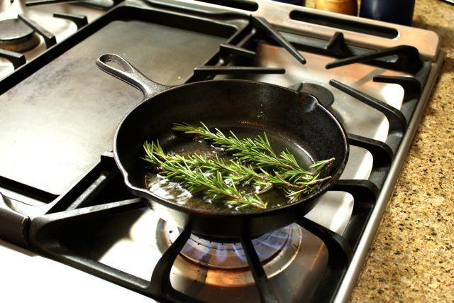 Crispy Rosemary Hummus | Recipe