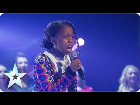 ▶ Asanda singing Beyonce's 'If I Were A Boy' | Final 2013 | Britain's Got Talent 2013 - YouTube  How can she be 11yr old...what a voice