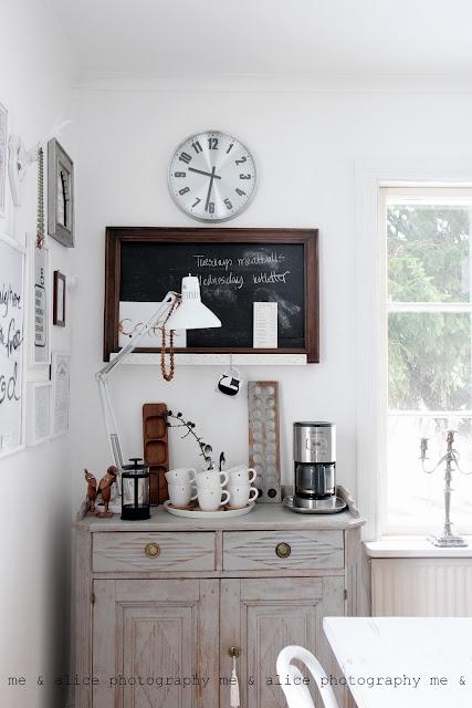 A pretty little corner in the kitchen...