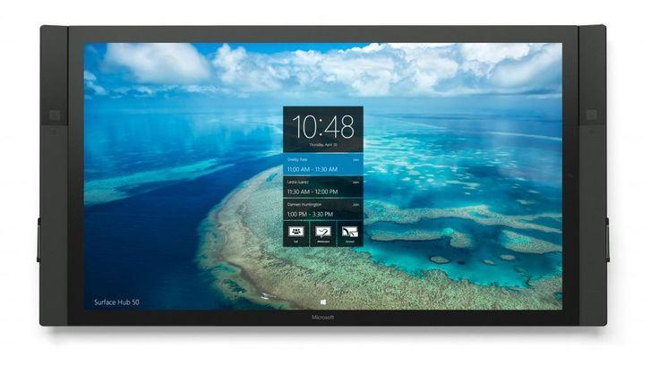 Microsoft releases Windows 10 Anniversary Update to Surface Hub