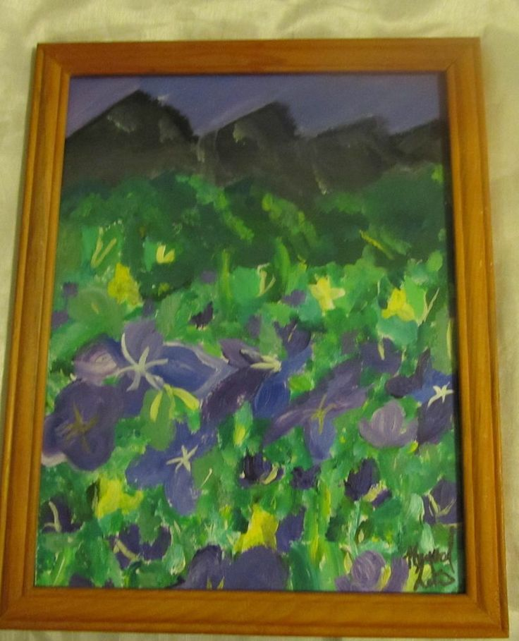 Magestic Mountain Painting #Expressionism