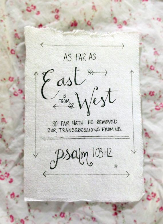 Custom Hand Drawn Scripture Art Psalm by LovelyIntentions, $10.00: