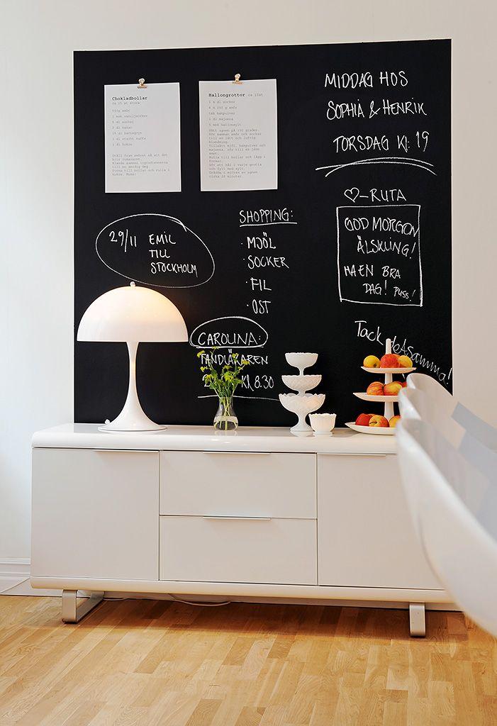 : Decor, Quadro Negro, Decor Ideas, Blackboard Ideas, Chalkboards Paintings, Decorating Ideas, Chalk Boards, Blackboard Paintings, Chalkboards Wall