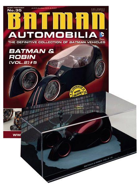 Pré-Encomenda:  Batman Automobilia Magazine with 1/43 Diecast Model 35 Batman & Robin Vol. 2 5  Para mais informações clica no seguinte link: http://buff.ly/1mqiG8L  #ToyArt #Eaglemoss #Batman