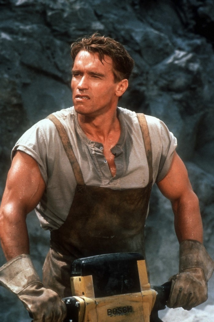 Arnold Schwarzenegger en Total Recall