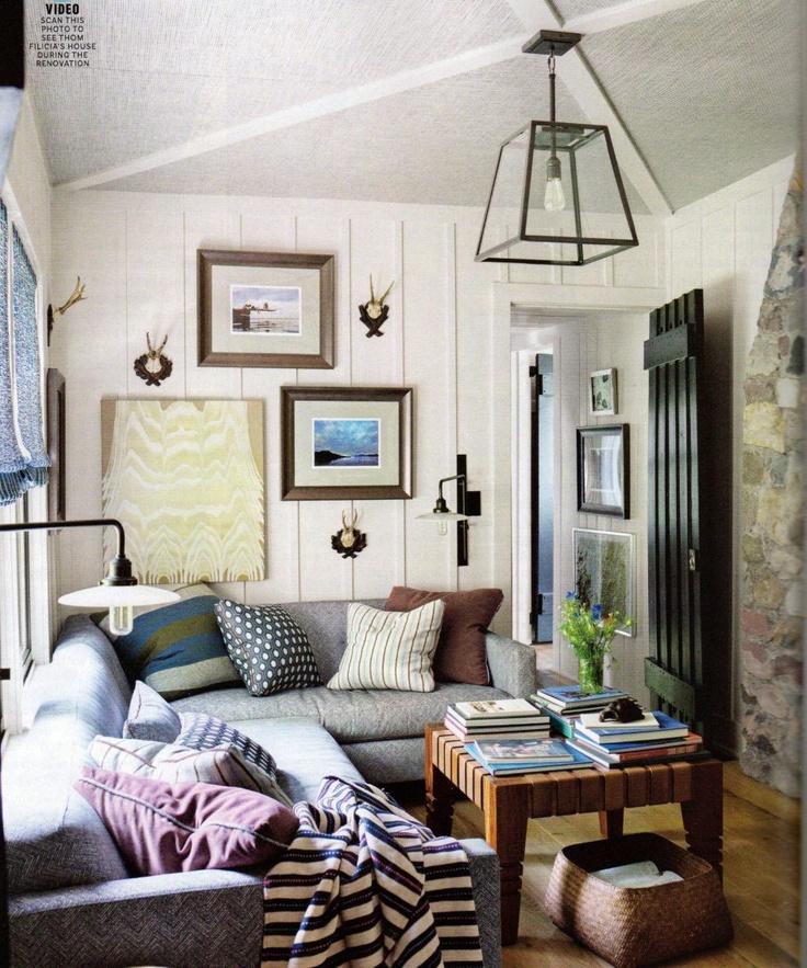 lovely, cozy den