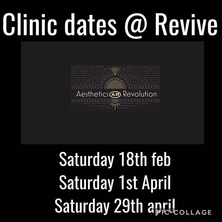 Botox & filler clinics available at revive #botox #lipfillers #aestheticrevolution #clinicdates