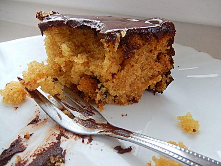 Les Delices d' Eleni: Vanilla orange cake and chocolate frosting (for fa...