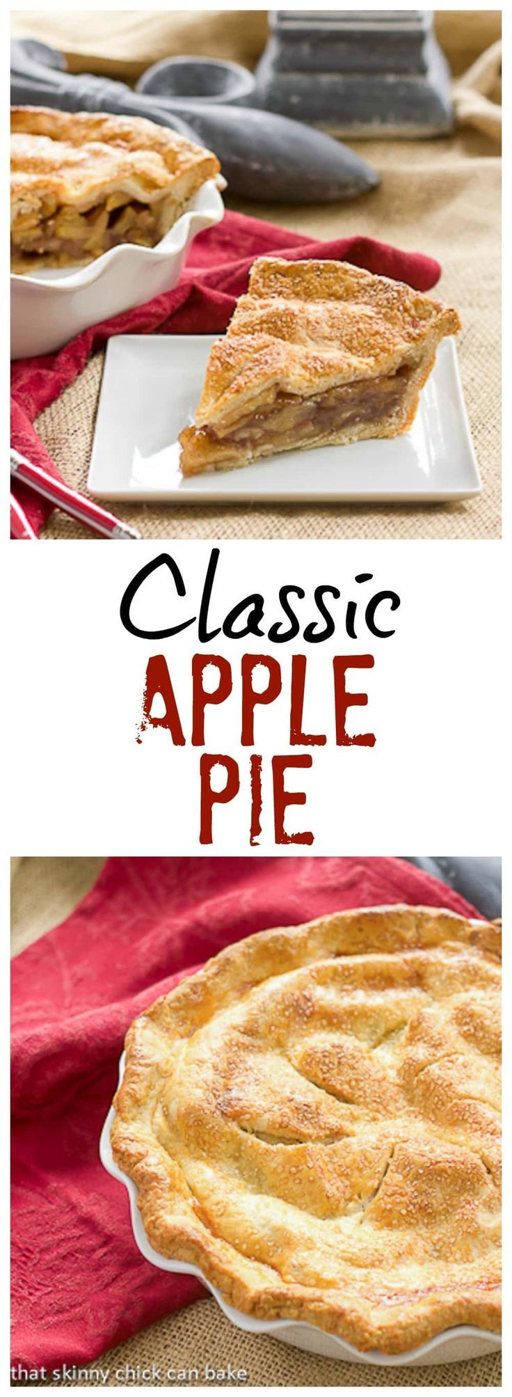 Classic Apple Pie #applepie | The perfect apple pie recipe @lizzydo