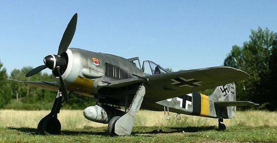 Focke-Wulf Fw-190A-8 by Ian Robert.:
