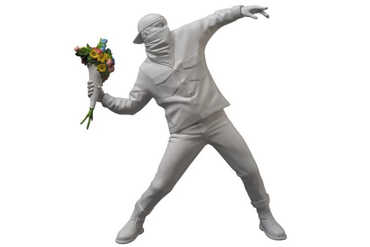 "Medicom Toy — Banksy ""Flower Bomber"""