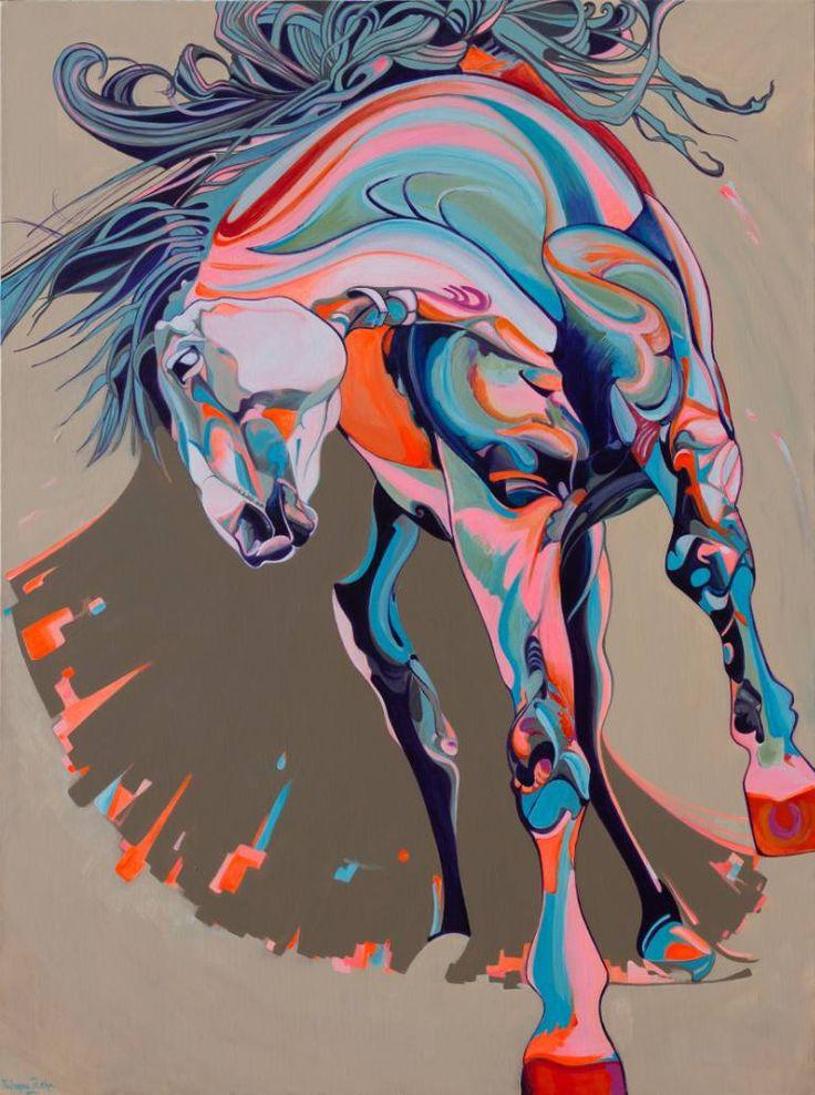 """Saatchi Art Artist Yaheya Pasha; Painting, """"Flamenco"""" #art"""