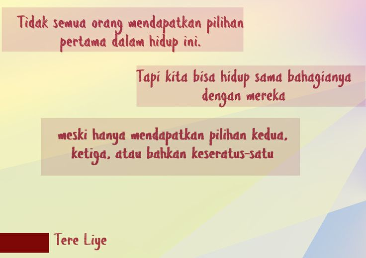 Tere Liye's Quote