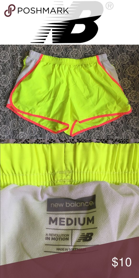 ⚡️FLASH⚡️New Balance NEON Running Shorts These neon running shorts are the perfect way to start the year off right!! Sz M and in perfect condition ** not Nike Nike Shorts