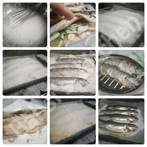 FISCH IN SALZKRUSTE Rezept: http://babsiskitchen-foodblog.blogspot.de/2016/02/fisch-in-salzkruste.html