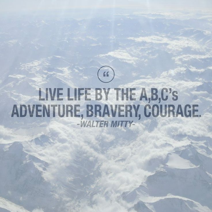The Secret Life Of Walter Mitty Wallet Quote The secret life of walter
