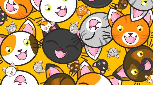 Cats! Tuesday's Whimsical Free Daily Jigsaw Puzzle - Click to play it now!