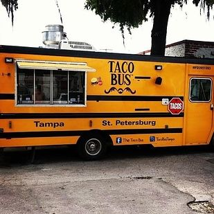 A converted school bus! Taco Bus — Tampa, Fla. | The 25 Most Popular Food Trucks Of 2013