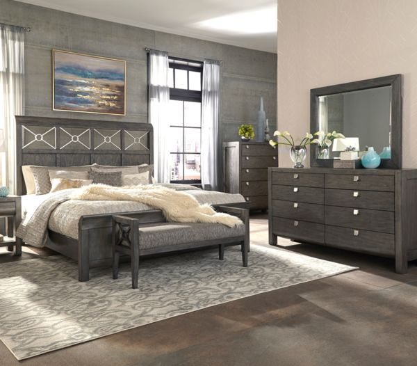Yearwood Home Collection By Klaussner Music City Queen Bed Complete At Darvin Furniture