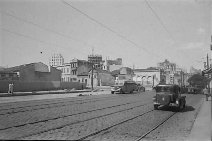 1938 - Rua da Consolação.