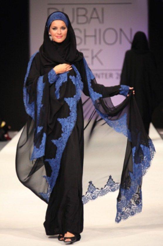 Hijab Styles in Dubai Fashion Week