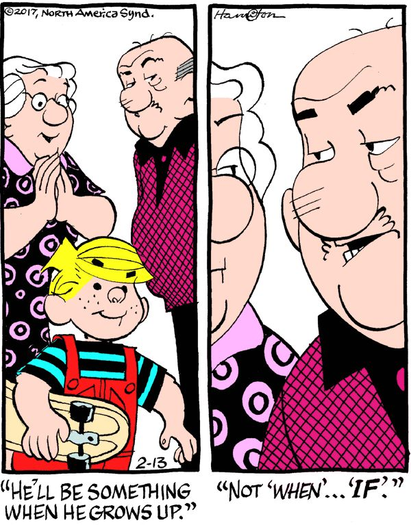 Dennis the Menace for 2/13/2017