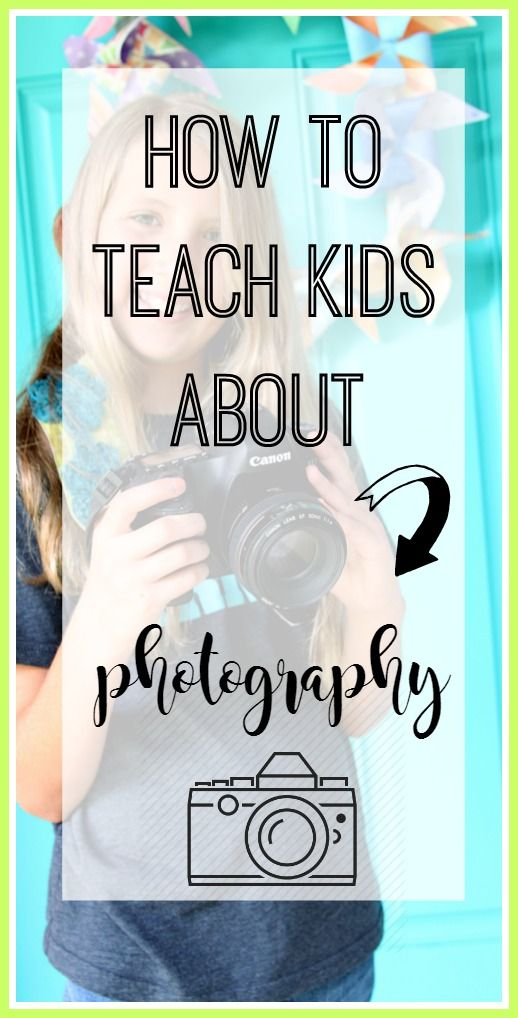 How to Teach Kids Photography - Sugar Bee Crafts