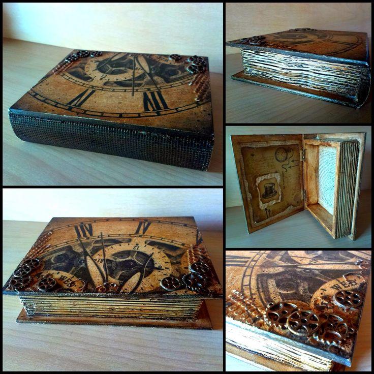 Galeria - Inspiracji - Magdy: Stara księga - for a gentleman...