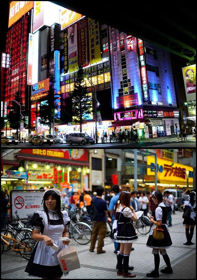 AKIHABARA  Akihabara, es uno de los lugares mas reconocidos de Japón a nivel mundial, haciéndose famosa por concentrar los avances tecnológicos en gadgets, y ademas por ser la meca de gran parte de la cultura japonesa, la cultura geek y otaku.