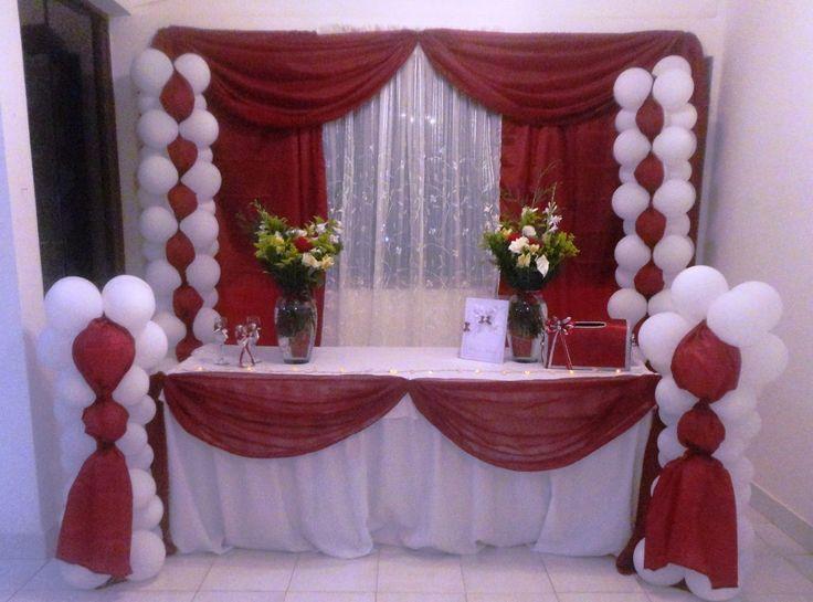 decoracion con globos bodas - Búsqueda de Google