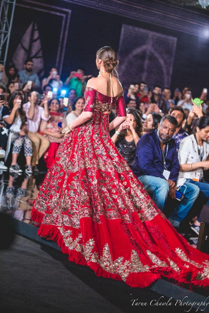 Manish Malhotra Bridal Lehenga worn by Deepika Padukone