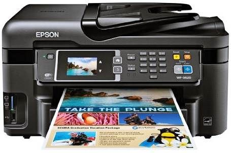The Epson WorkForce WF3620 Wireless Color All in One Printer | epsonlink