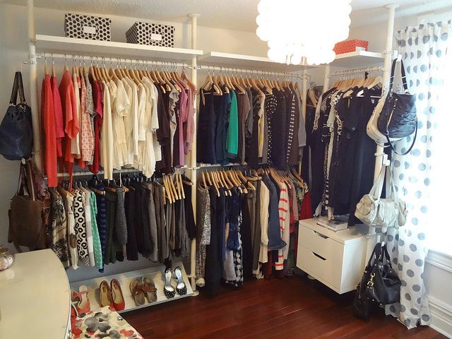 Dressing room 7 by life begins at thirty right via for No closet solutions