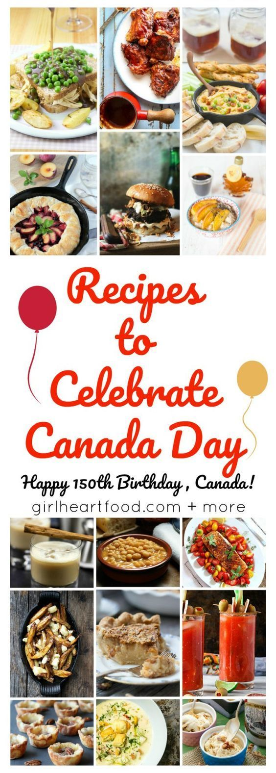 Recipes to Celebrate Canada Day