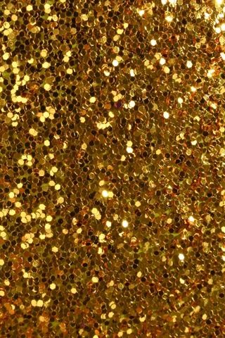 Gold glitter is the best at Christmas time