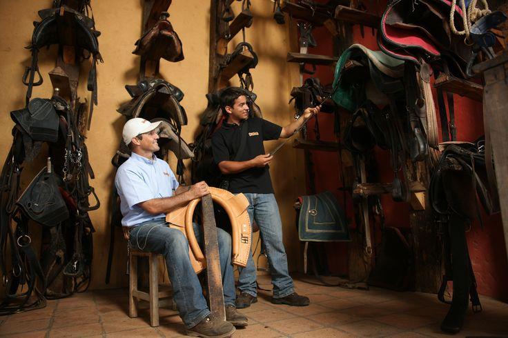 Talabartería, monturas, cuero y demás es un arte que se vive sólo en PANACA
