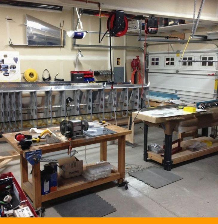 Design Your Small Garage Shop How To Garageshop Workshopgarage Workshopidea Woodworking Shop Plans Woodworking Shop Projects Small Woodworking Shop Ideas