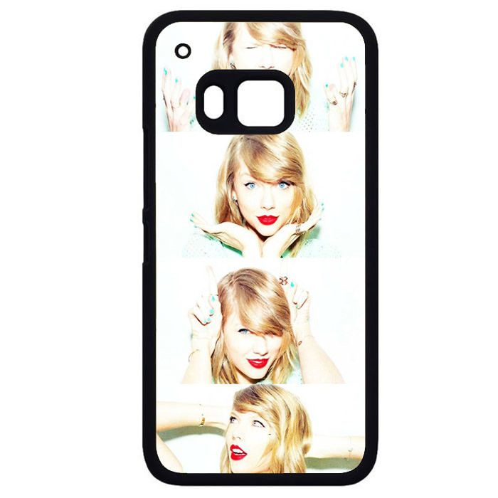 Taylor Swift Making Face CollagePhonecase Cover Case For HTC One M7 HTC One M8 HTC One M9 HTC ONe X