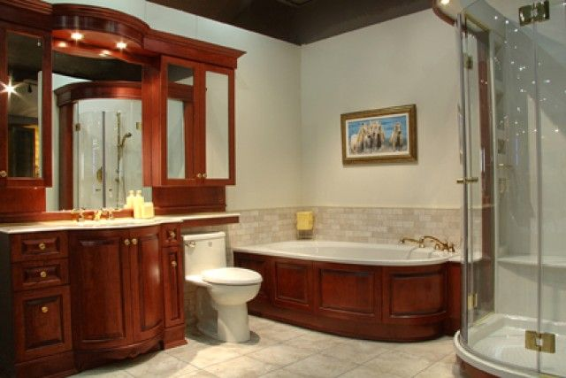 Salle de bain luxueuse.