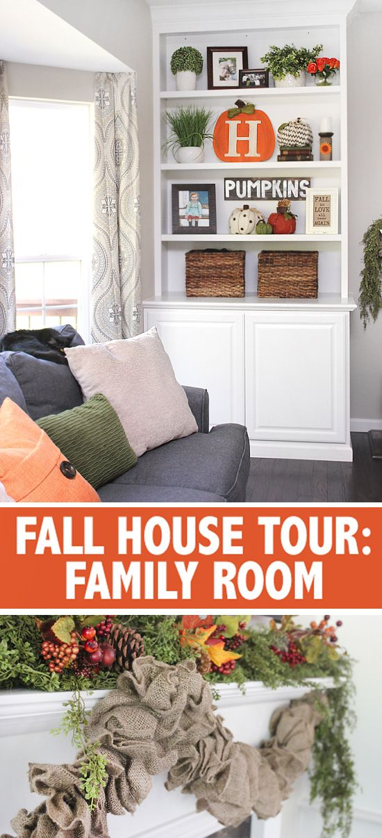 FALL HOUSE TOUR: the family room!