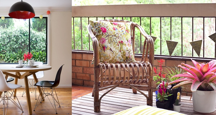 furniture sourcing ..stuning table, chairs and stunning pendant // brighten up the smallest space x