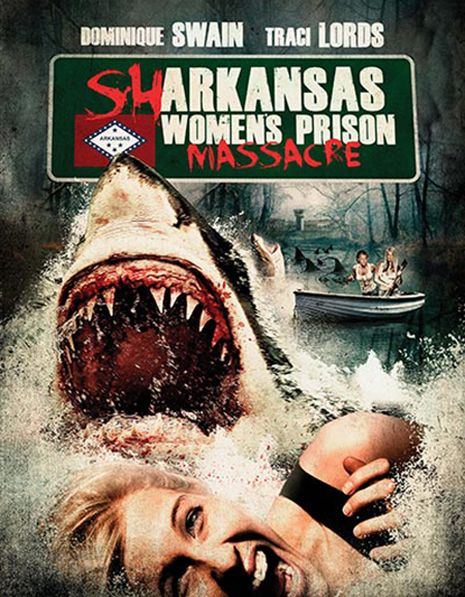 Traci Lords' new Women in Prison-cum-Sharksploitation flick: 'Sharkansas Women's Prison Massacre' | Dangerous Minds