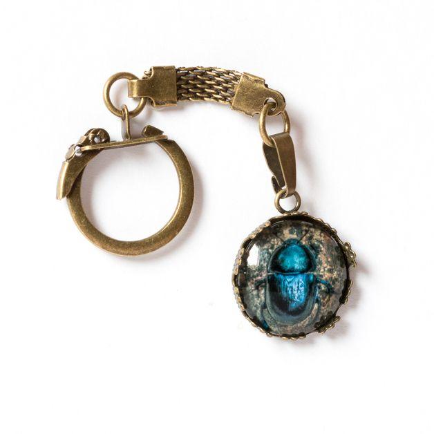 Brelok z chorwackim żukiem / Beetle keychain - Art-Of-Nature