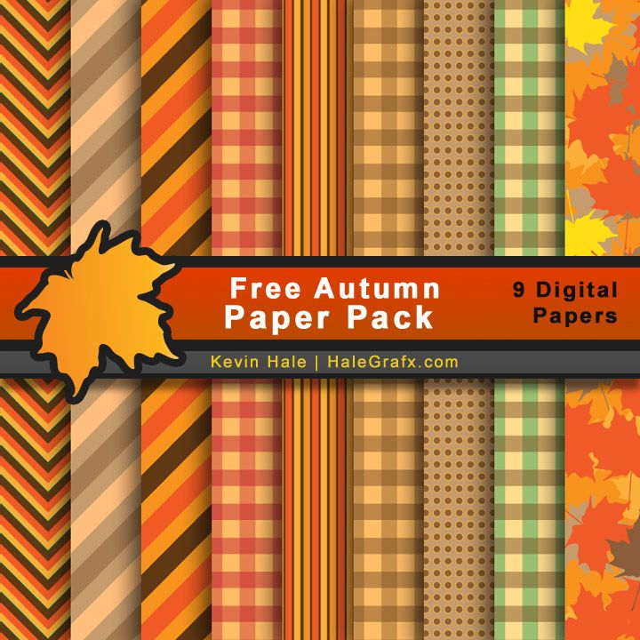fall autumn paper pack FREE Fall Autumn Digital Paper Pack Plus many other background papers & other printables.  :))